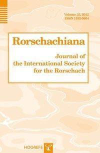 Rorschachiana. Yearbook of the International Rorschach Society / Rorschachiana