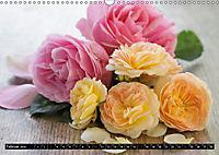 Rosen, Rosen ... arrangiert und am Strauch (Wandkalender 2019 DIN A3 quer) - Produktdetailbild 2