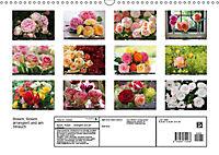 Rosen, Rosen ... arrangiert und am Strauch (Wandkalender 2019 DIN A3 quer) - Produktdetailbild 13