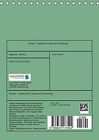 Rosen - Symbol der Liebe und Verehrung (Tischkalender 2019 DIN A5 hoch) - Produktdetailbild 13
