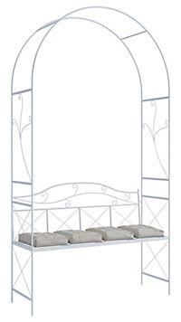 vcm rosenbogen torbogen rankhilfe rankgitter eisen f r kletterpflanze pflanzen gartenbogen. Black Bedroom Furniture Sets. Home Design Ideas