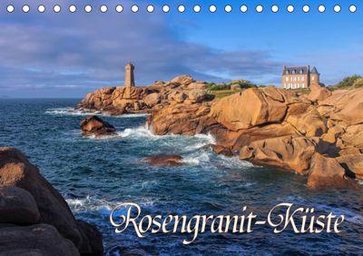 Rosengranit-Küste (Tischkalender 2019 DIN A5 quer), LianeM