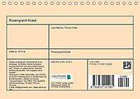 Rosengranit-Küste (Tischkalender 2019 DIN A5 quer) - Produktdetailbild 13
