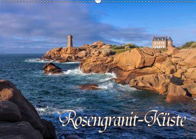 Rosengranit-Küste (Wandkalender 2019 DIN A2 quer), LianeM