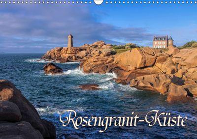 Rosengranit-Küste (Wandkalender 2019 DIN A3 quer), LianeM