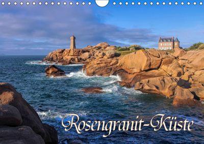 Rosengranit-Küste (Wandkalender 2019 DIN A4 quer), LianeM