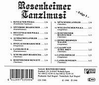 Rosenheimer Tanzlmusi - Produktdetailbild 1
