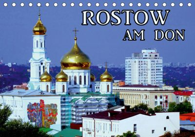 Rostow am Don (Tischkalender 2019 DIN A5 quer), Henning von Löwis of Menar
