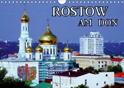 Rostow am Don (Wandkalender 2019 DIN A4 quer), Henning von Löwis of Menar