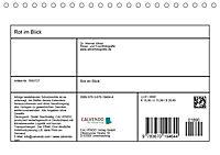 Rot im Blick (Tischkalender 2019 DIN A5 quer) - Produktdetailbild 13