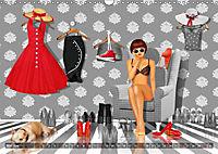 Rot wie die Liebe by Mausopardia (Wandkalender 2019 DIN A3 quer) - Produktdetailbild 3