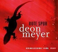 Rote Spur, 5 Audio-CDs, Deon Meyer