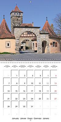 Rothenburg o.d.T. -Fairy Tale Dream Town (Wall Calendar 2019 300 × 300 mm Square) - Produktdetailbild 1