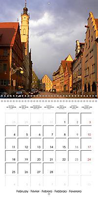 Rothenburg o.d.T. -Fairy Tale Dream Town (Wall Calendar 2019 300 × 300 mm Square) - Produktdetailbild 2