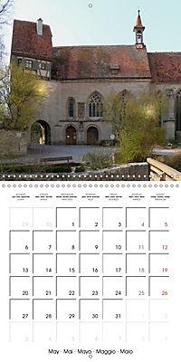 Rothenburg o.d.T. -Fairy Tale Dream Town (Wall Calendar 2019 300 × 300 mm Square) - Produktdetailbild 5