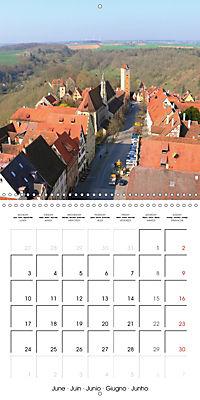 Rothenburg o.d.T. -Fairy Tale Dream Town (Wall Calendar 2019 300 × 300 mm Square) - Produktdetailbild 6