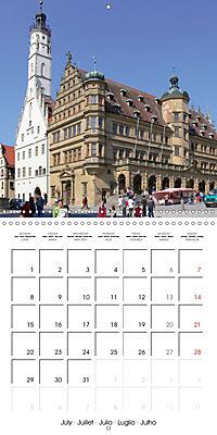 Rothenburg o.d.T. -Fairy Tale Dream Town (Wall Calendar 2019 300 × 300 mm Square) - Produktdetailbild 7