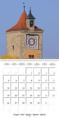 Rothenburg o.d.T. -Fairy Tale Dream Town (Wall Calendar 2019 300 × 300 mm Square) - Produktdetailbild 8