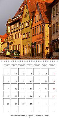 Rothenburg o.d.T. -Fairy Tale Dream Town (Wall Calendar 2019 300 × 300 mm Square) - Produktdetailbild 10