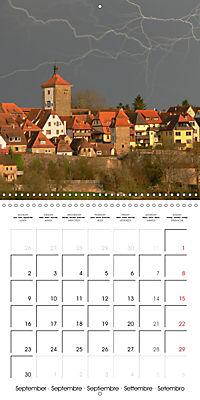 Rothenburg o.d.T. -Fairy Tale Dream Town (Wall Calendar 2019 300 × 300 mm Square) - Produktdetailbild 9