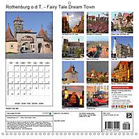 Rothenburg o.d.T. -Fairy Tale Dream Town (Wall Calendar 2019 300 × 300 mm Square) - Produktdetailbild 13