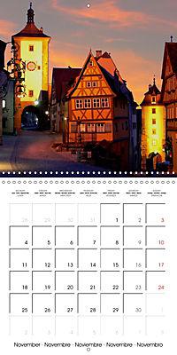 Rothenburg o.d.T. -Fairy Tale Dream Town (Wall Calendar 2019 300 × 300 mm Square) - Produktdetailbild 11