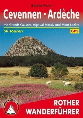 Rother Wanderführer Cevennen, Ardèche - Bettina Forst |