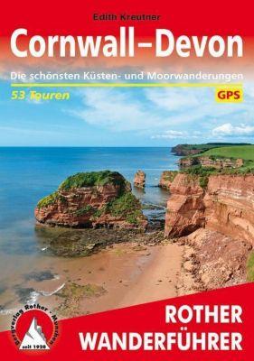 Rother Wanderführer Cornwall - Devon - Edith Kreutner |