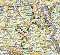 Rother Wanderführer Fränkischer Gebirgsweg - Produktdetailbild 1