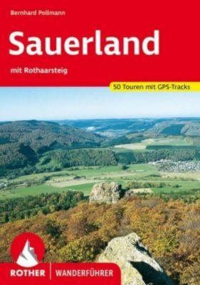 Rother Wanderführer Sauerland mit Rothaarsteig - Bernhard Pollmann |