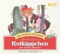 Rotkäppchen und weitere Märchen, 1 Audio-CD, Jacob Grimm, Wilhelm Grimm