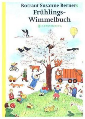 Rotraut Susanne Berners Frühlings-Wimmelbuch, Mini-Ausgabe, Rotraut Susanne Berner
