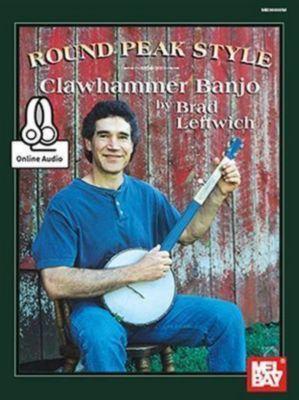 Round Peak Style Clawhammer Banjo, Brad Leftwich