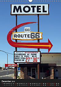 Route 66 (UK-Version) (Wall Calendar 2019 DIN A3 Portrait) - Produktdetailbild 12