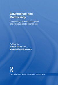 Routledge/ECPR Studies in European Political Science: Governance and Democracy