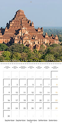 Royal Bagan (Wall Calendar 2019 300 × 300 mm Square) - Produktdetailbild 9