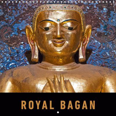 Royal Bagan (Wall Calendar 2019 300 × 300 mm Square), Martin Ristl