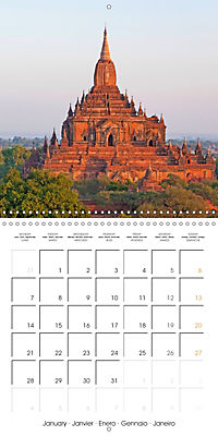 Royal Bagan (Wall Calendar 2019 300 × 300 mm Square) - Produktdetailbild 1