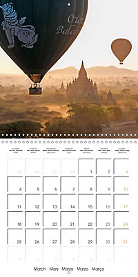 Royal Bagan (Wall Calendar 2019 300 × 300 mm Square) - Produktdetailbild 3
