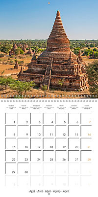 Royal Bagan (Wall Calendar 2019 300 × 300 mm Square) - Produktdetailbild 4