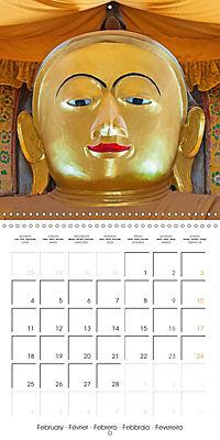 Royal Bagan (Wall Calendar 2019 300 × 300 mm Square) - Produktdetailbild 2