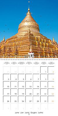 Royal Bagan (Wall Calendar 2019 300 × 300 mm Square) - Produktdetailbild 6