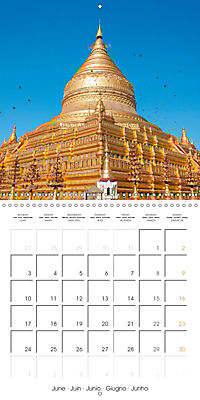 Royal Bagan (Wall Calendar 2019 300 × 300 mm Square) - Produktdetailbild 6