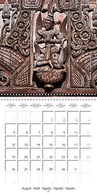 Royal Bagan (Wall Calendar 2019 300 × 300 mm Square) - Produktdetailbild 8