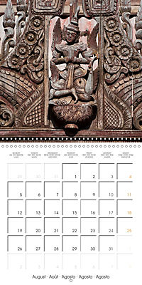 Royal Bagan (Wall Calendar 2019 300 × 300 mm Square) - Produktdetailbild 8