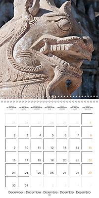 Royal Bagan (Wall Calendar 2019 300 × 300 mm Square) - Produktdetailbild 12