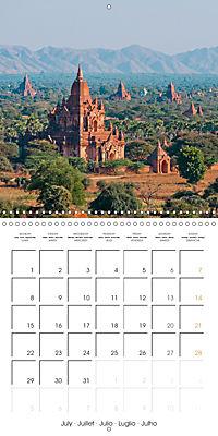 Royal Bagan (Wall Calendar 2019 300 × 300 mm Square) - Produktdetailbild 7