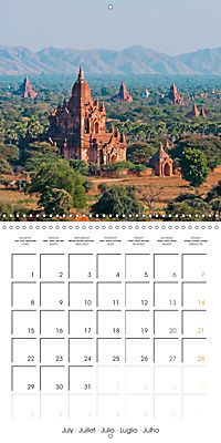 Royal Bagan (Wall Calendar 2019 300 × 300 mm Square) - Produktdetailbild 7