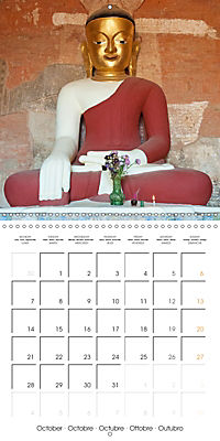 Royal Bagan (Wall Calendar 2019 300 × 300 mm Square) - Produktdetailbild 10