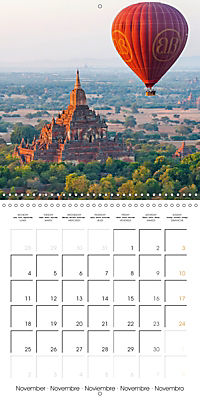 Royal Bagan (Wall Calendar 2019 300 × 300 mm Square) - Produktdetailbild 11